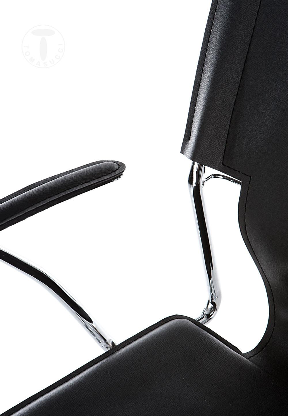 Sedie ufficio sedia da ufficio lynx black for Sedia ufficio black friday