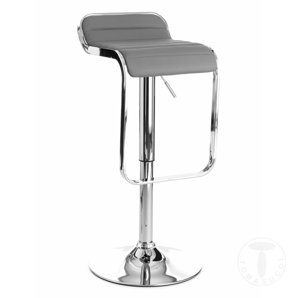 Clothing Bar Stool Snappy Grey