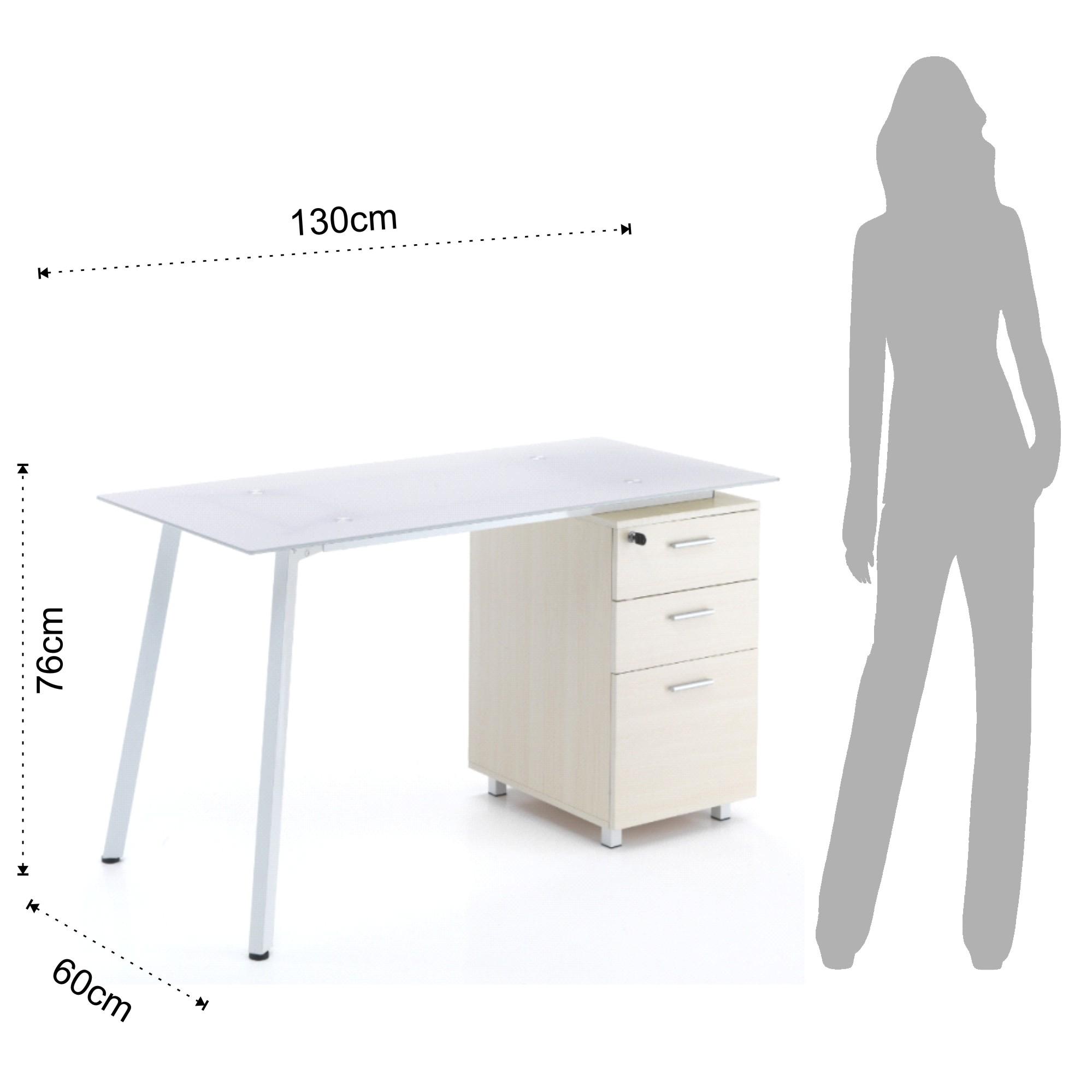 computer desk SET-UP - C