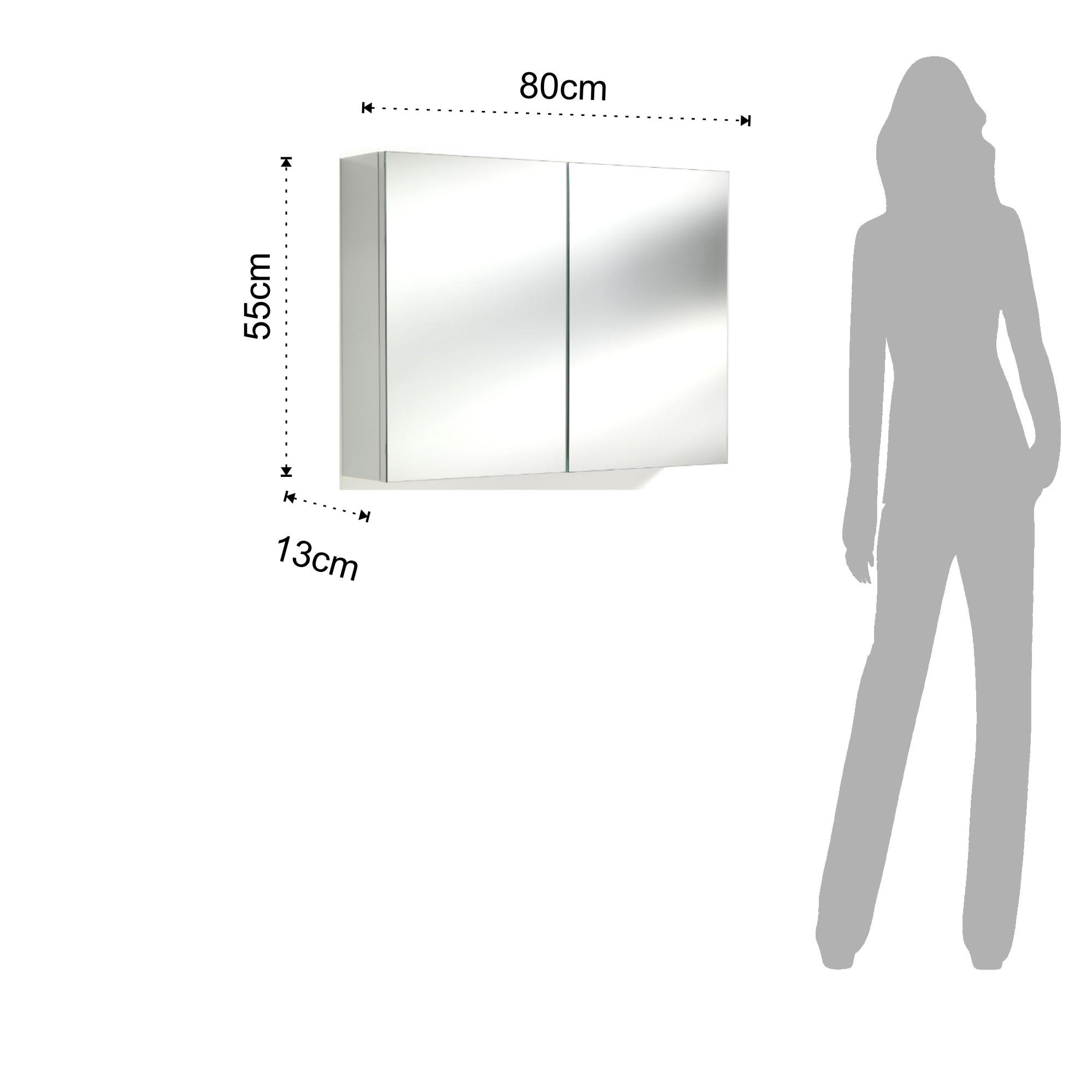 Specchio contenitore B085
