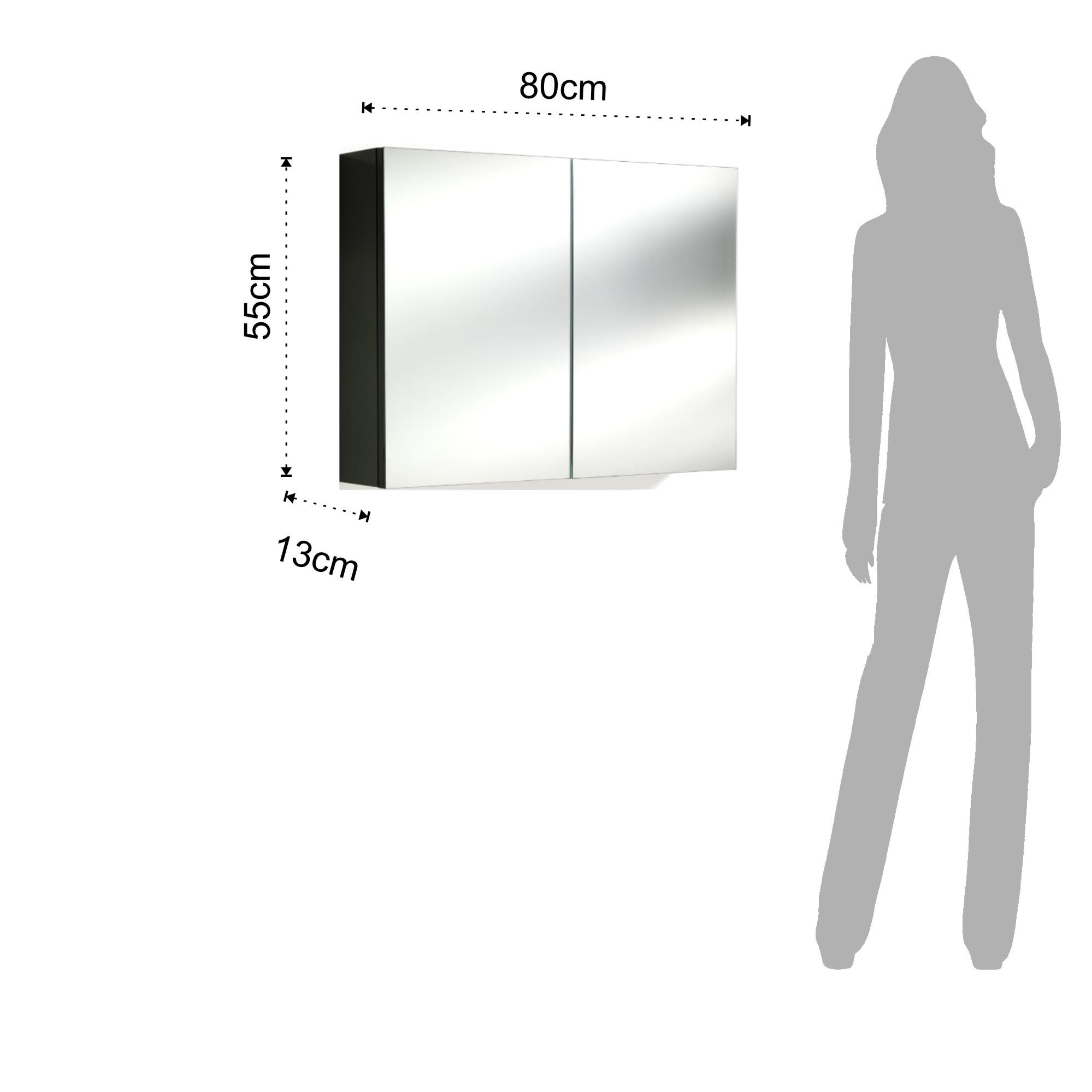 Specchio contenitore B086