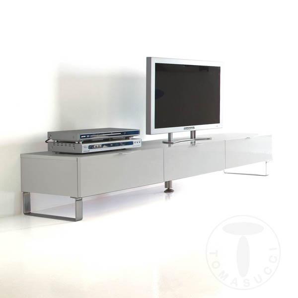 Mobili Zona Giorno : base porta tv 3 cassetti SYSTEM