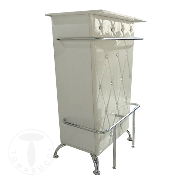 Bar table DIVA WHITE
