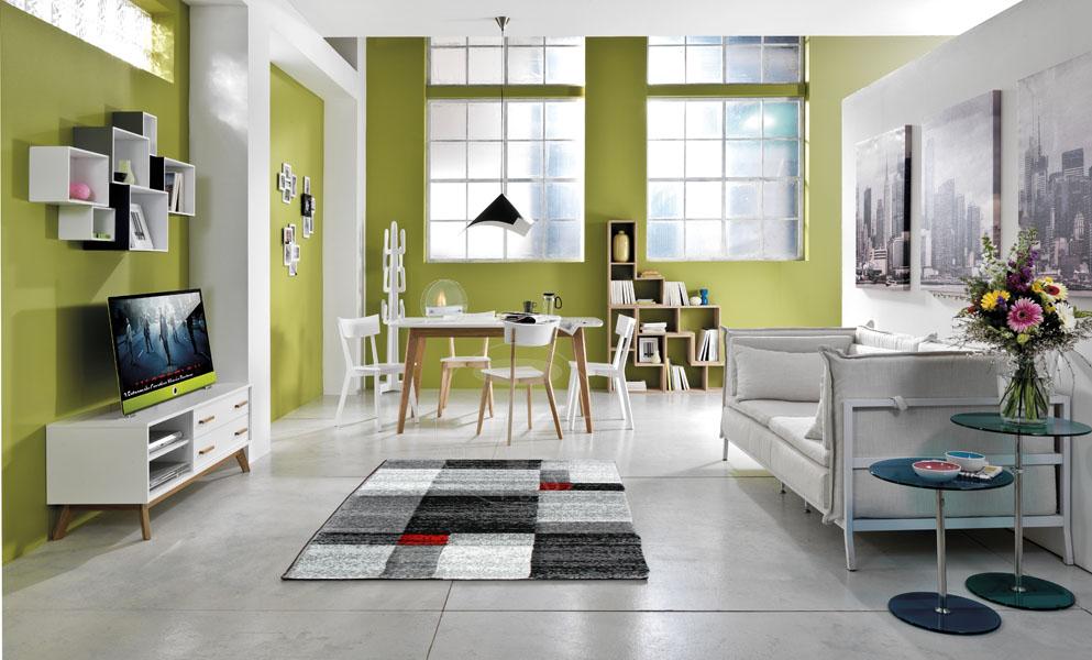 carpet CHESS GREY 140x190