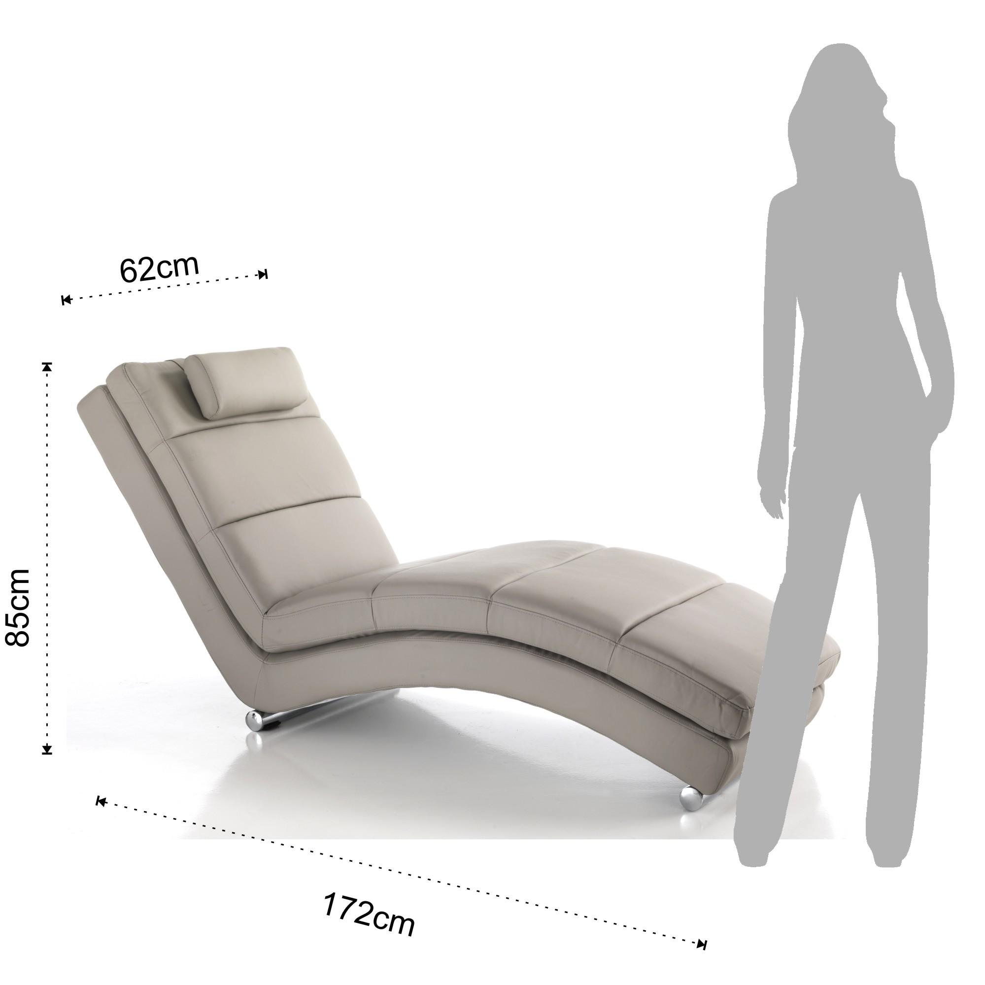 blazers chaise longue sofia taupe. Black Bedroom Furniture Sets. Home Design Ideas