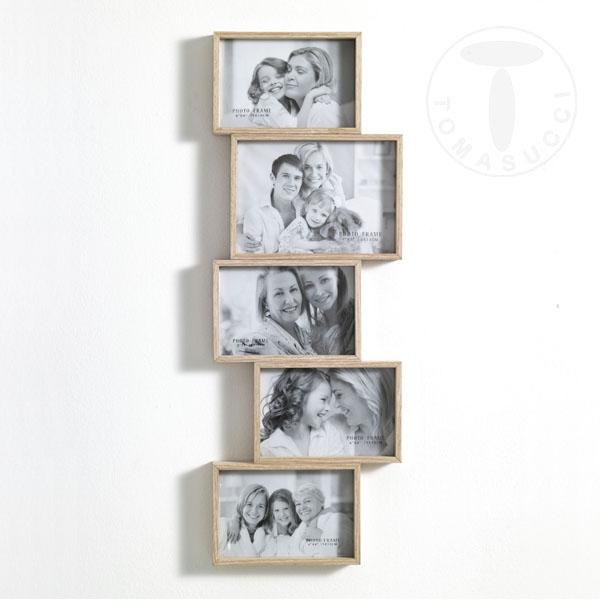 Portafoto e orologi portafoto da parete random 5f - Cornici portafoto da parete ...
