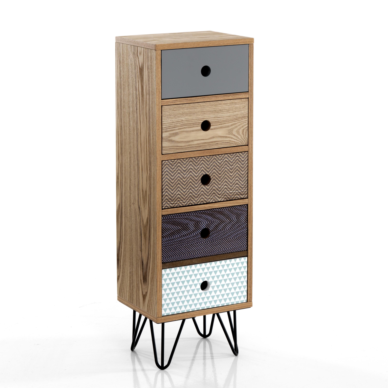 High 5 drawer dresser HIJO