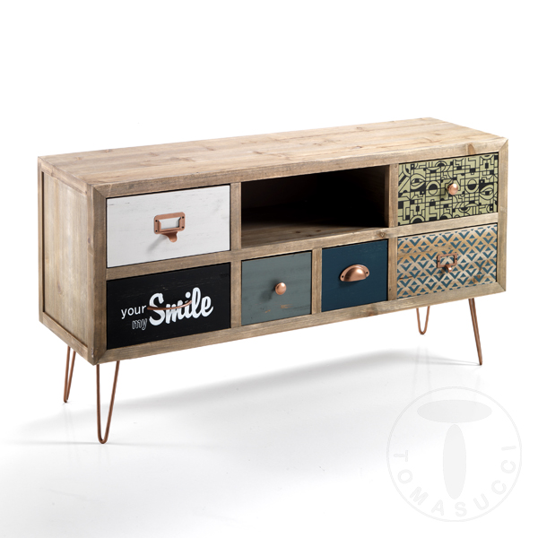 Sports Tv Stand 6 Drawer Dresser Kijo