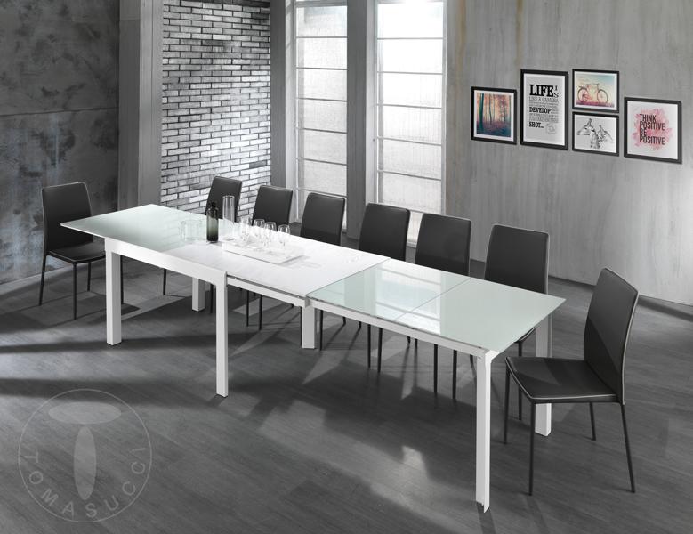Tavoli fissi e allungabili tavolo rettangolare for Tavoli bianchi moderni