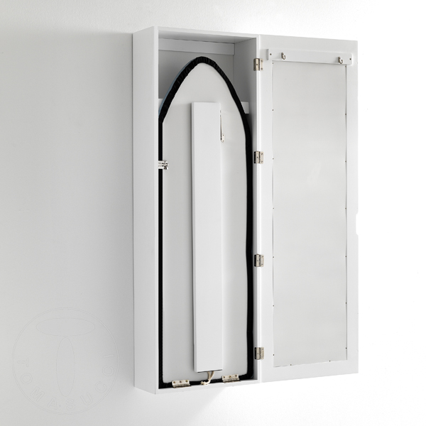 Tomasucci pensile con asse da stiro pratiko contenitore 3 ripiani interni bianco ebay - Ripiani interni cucina ...