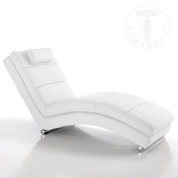 Blazers : chaise longue SOFIA WHITE