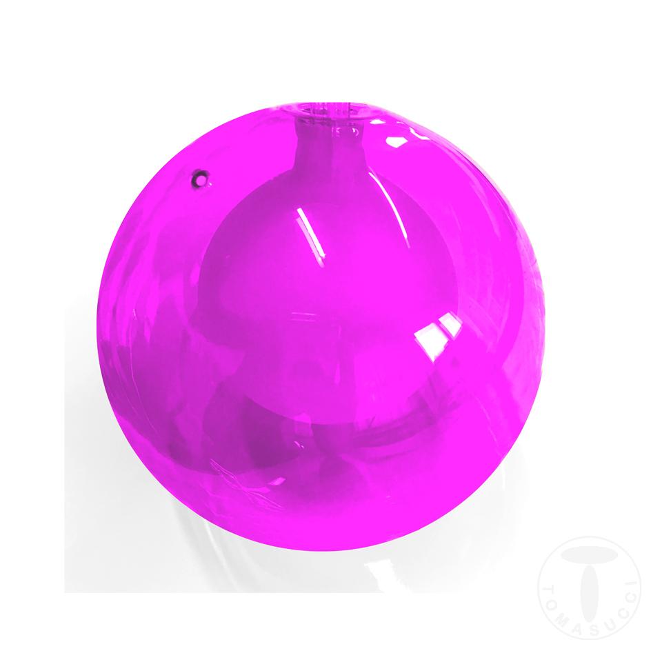 sfera in vetro ROSA per lampadario 2732