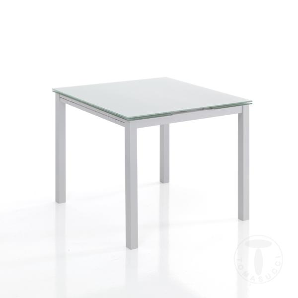 Tavolo Quadrato Allungabile Vetro Trasparente.Tavolo Quadrato Allungabile Vetro Design Per La Casa Aradz Com