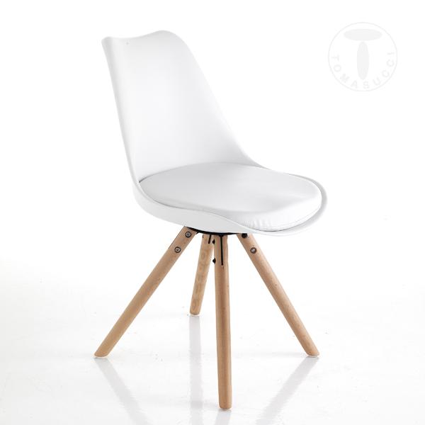 Chairs Chair Kiki Wood White