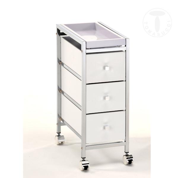 Mobili ufficio cassettiera con ruote baldo 3 c - Mobili con ruote ...
