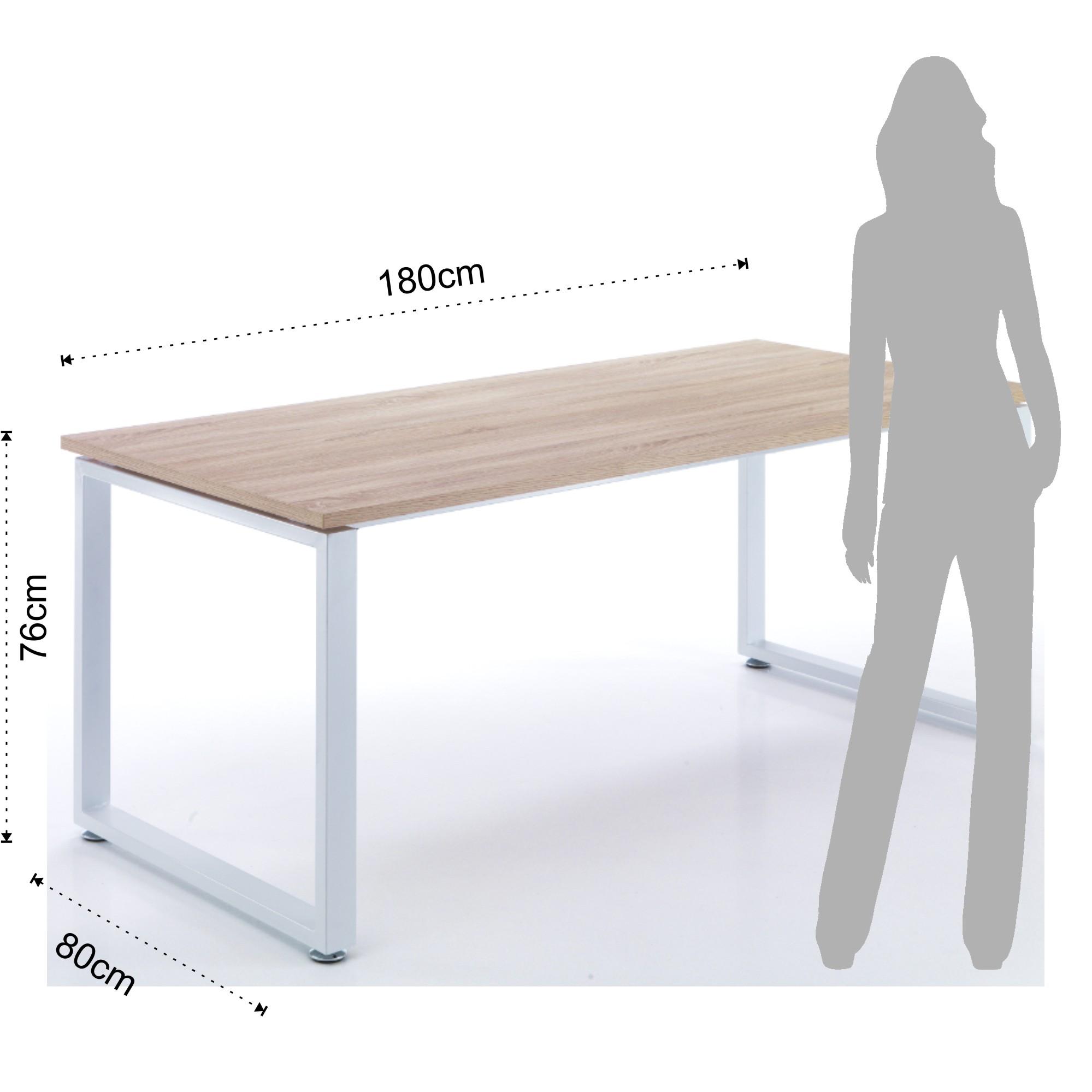 Scrivania 180 Cm.Cocktail Computer Desk Set Up D