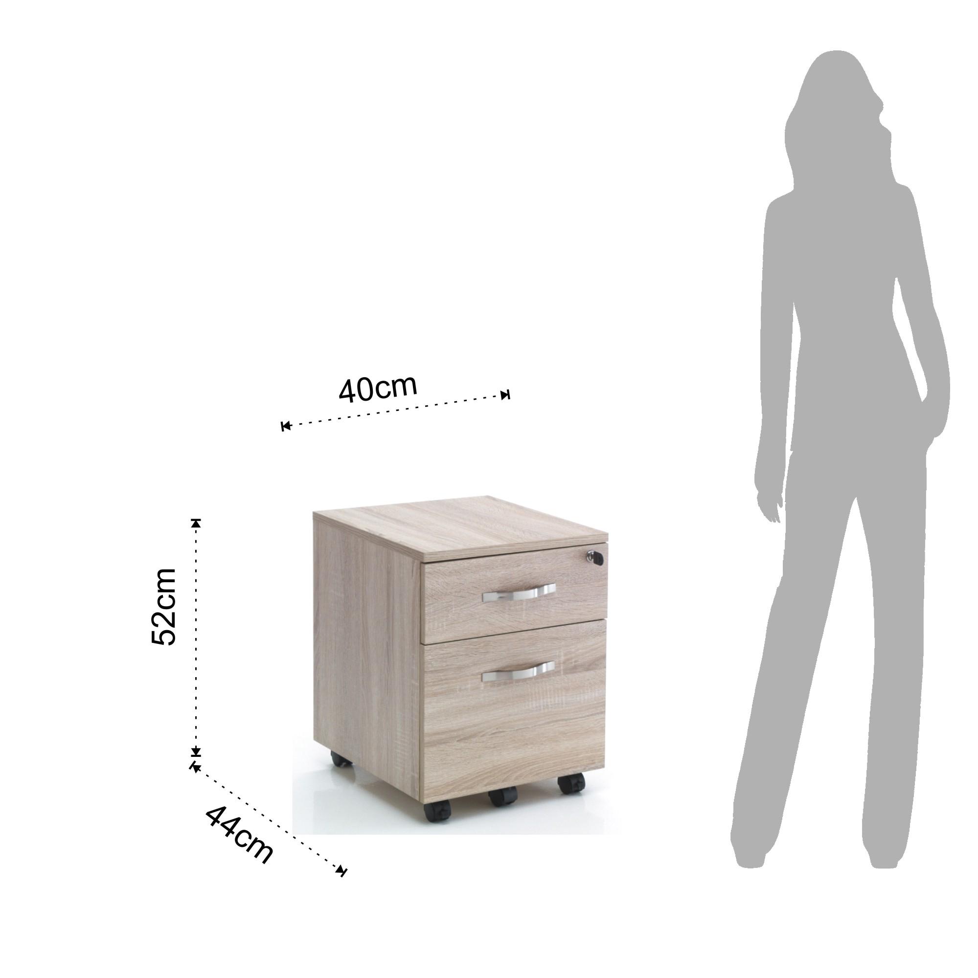 Mobili ufficio cassettiera con ruote set up - Mobili con ruote ...