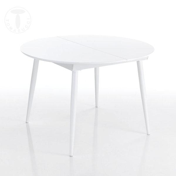 Tavoli fissi e Allungabili : tavolo rotondo allungabile ASTRO ROUND