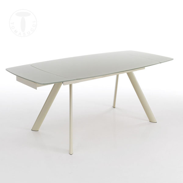rectangular extensible table CHARLOTTE