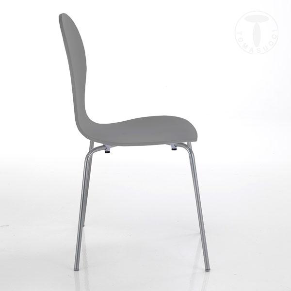 chair BALDI GREY