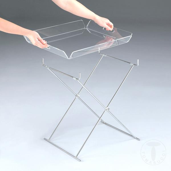 tavolino richiudibile BALDI CLEAR