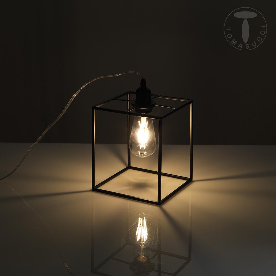 Lampada da tavolo STICK BLACK