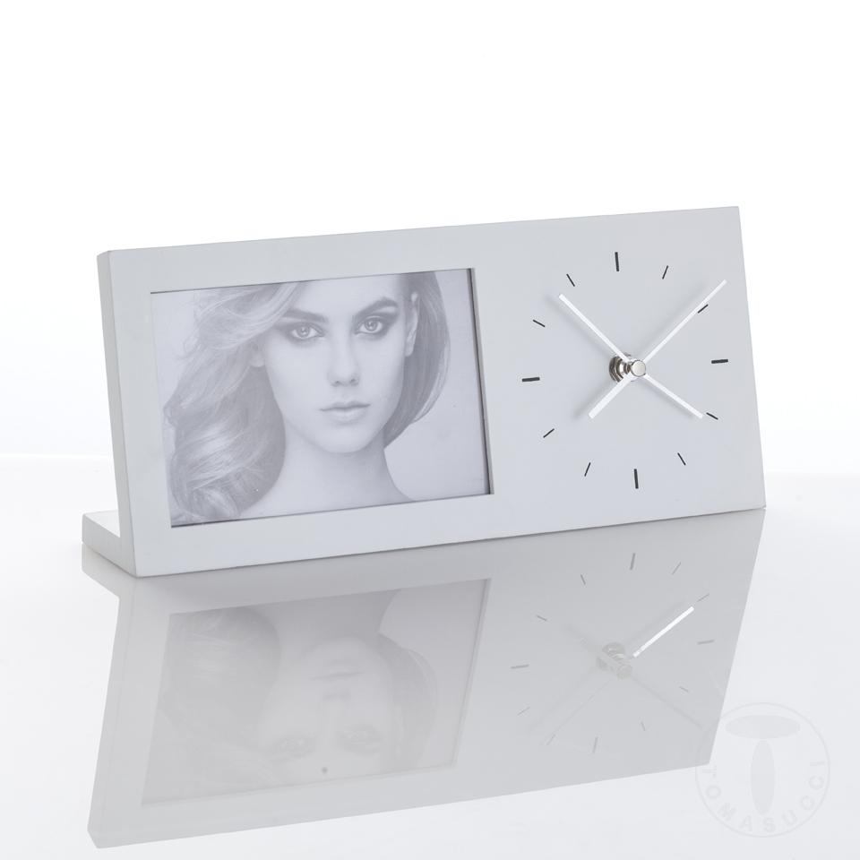 porta foto da tavolo con orologio LILLY