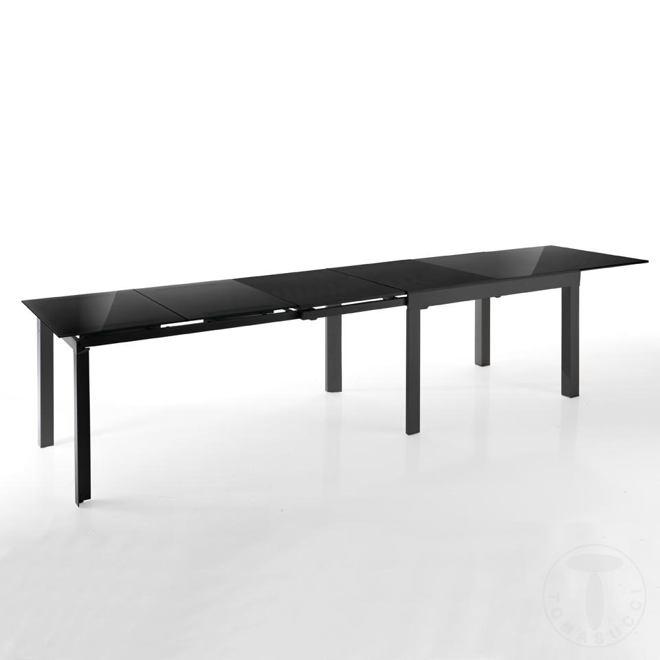 tavolo allungabile LONG - BLACK