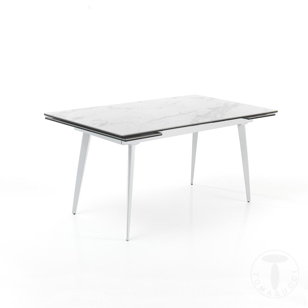 tavolo allungabile MOMO 140 MARBLE