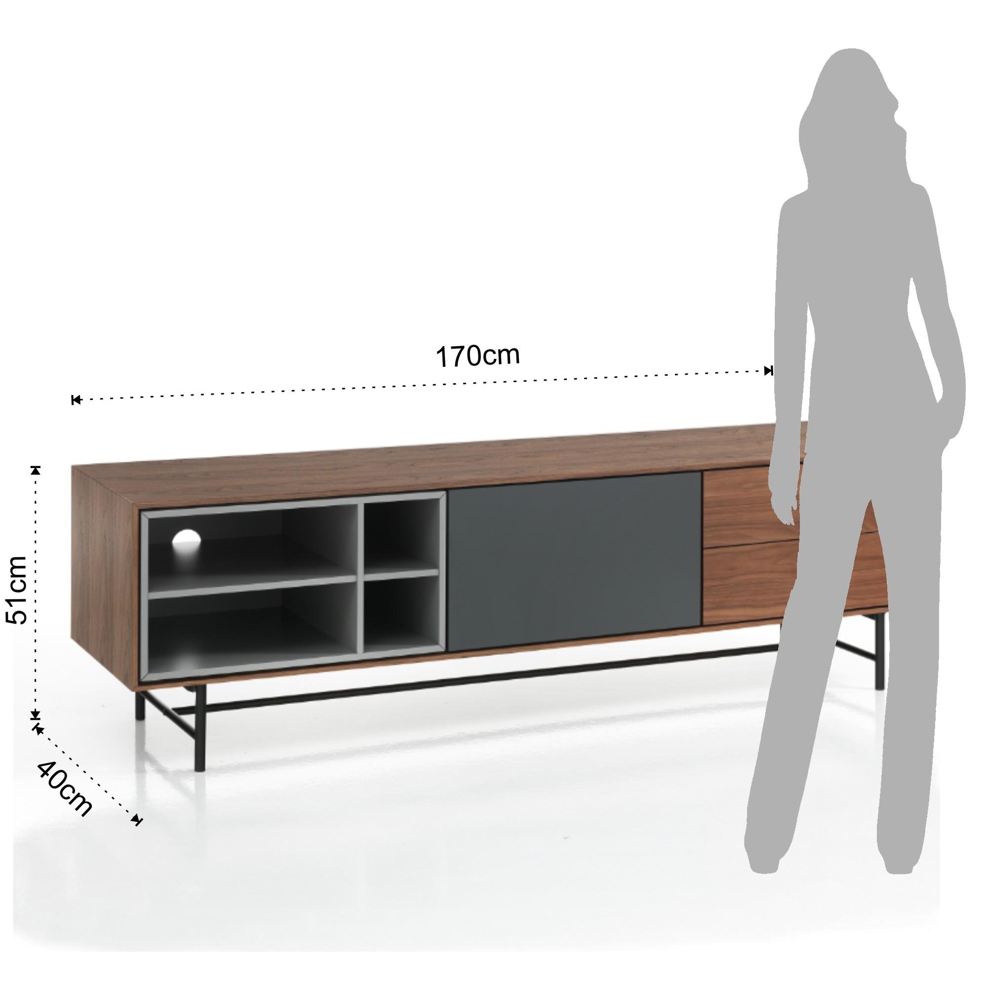 Mobili Zona Giorno : Madia porta TV CLEW