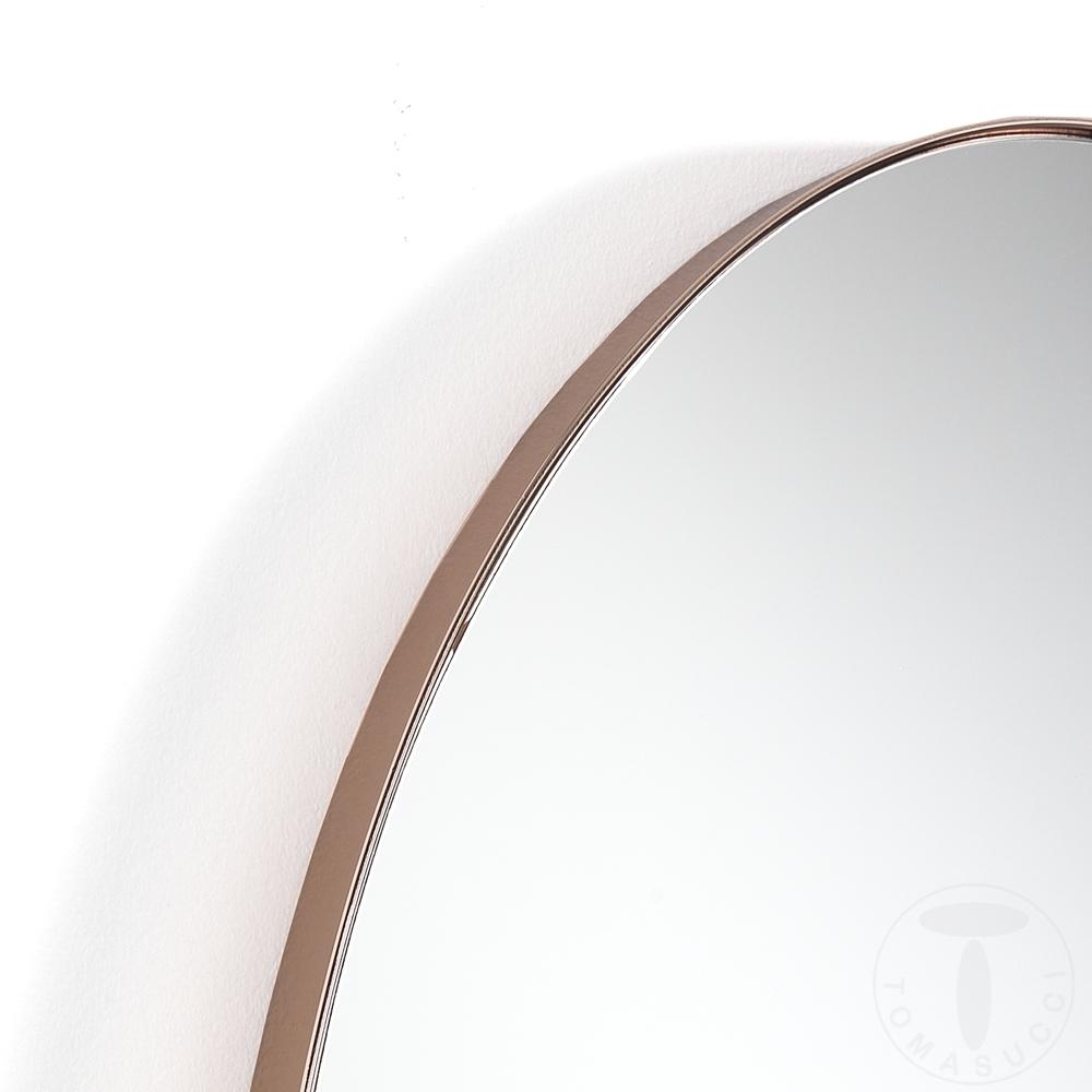 Specchio da parete OVAL COPPER