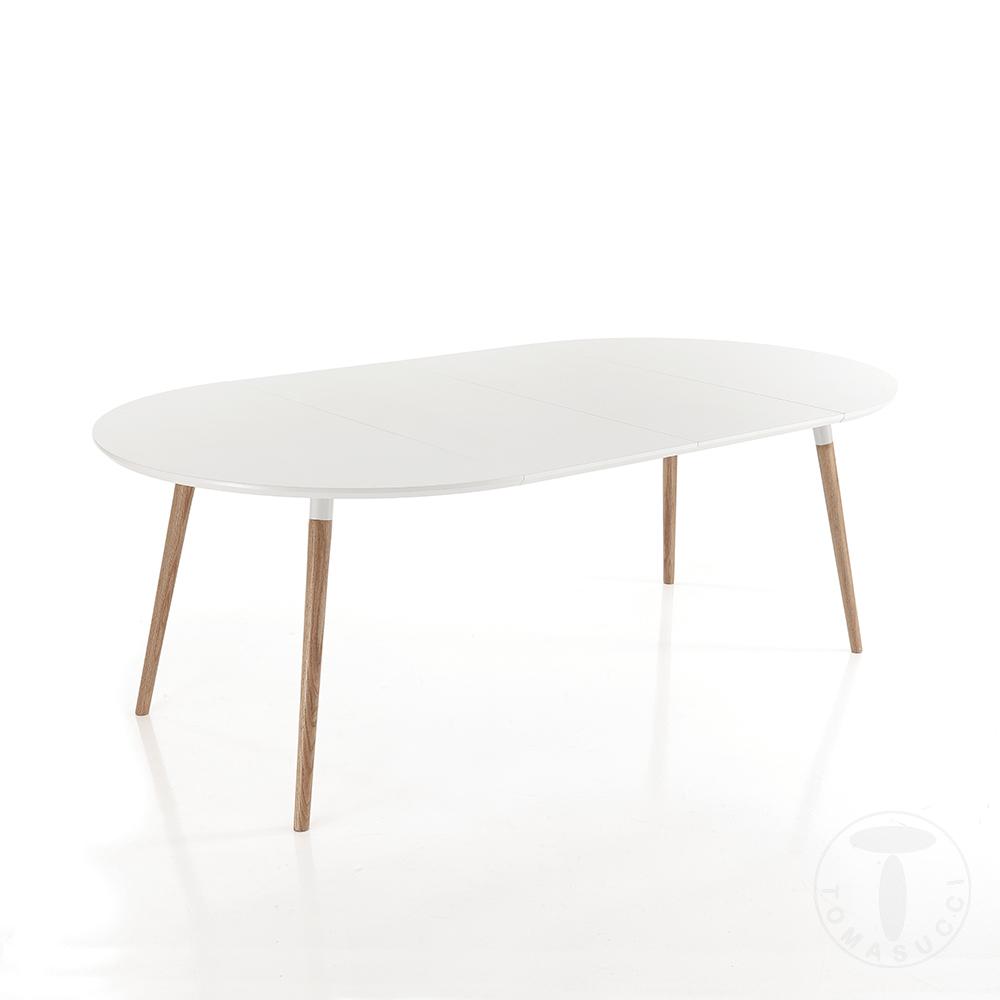 tavolo rotondo allungabile EGO WOOD