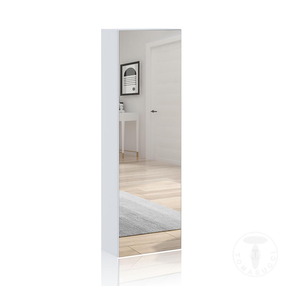 guardaroba / scarpiera a colonna con specchio ART