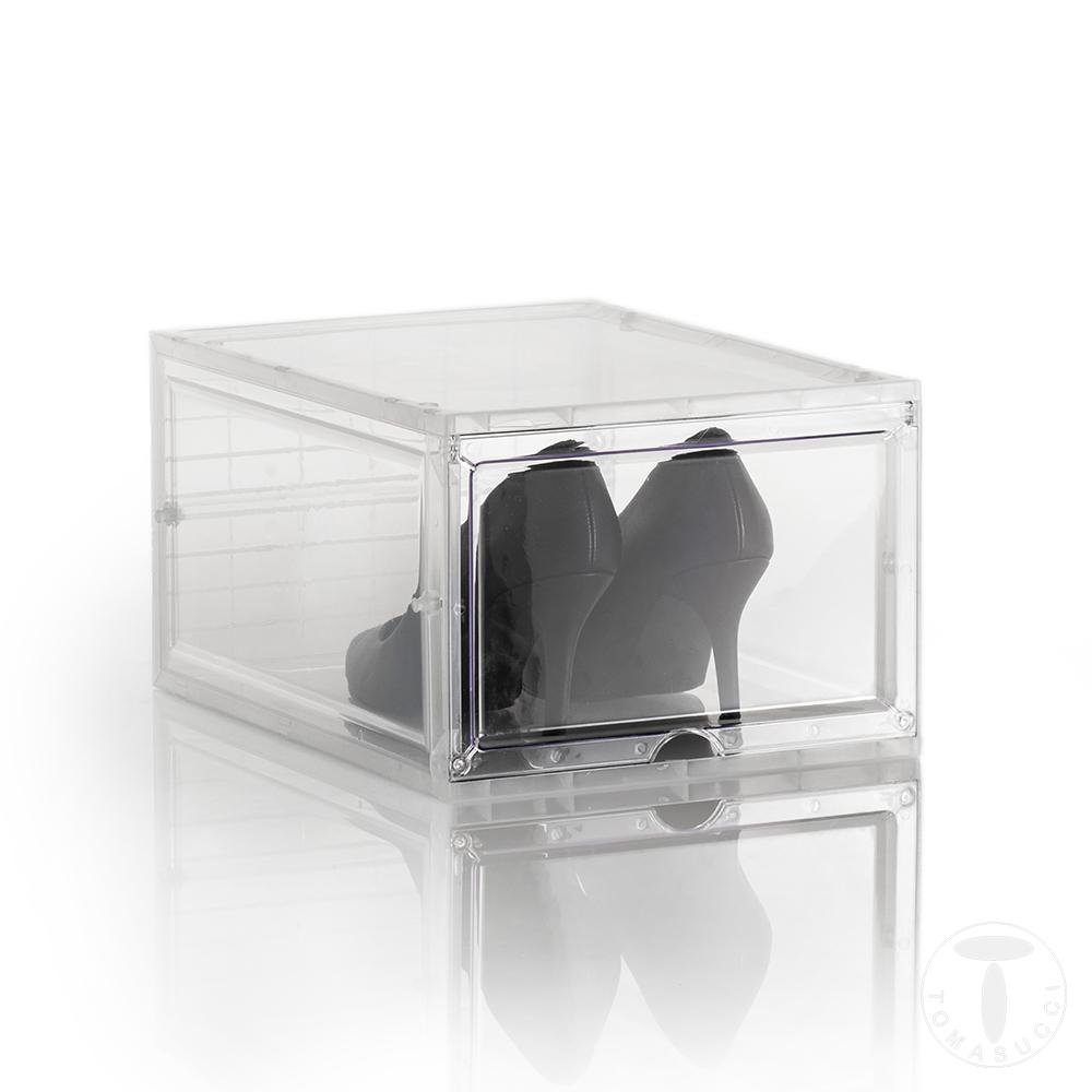 shoe box - porta scarpe - JONES TRANSPARENT