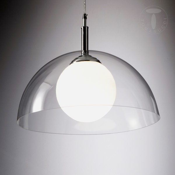 Lampade a sospensione lampadario silty trasparente for Ikea lampadari cucina