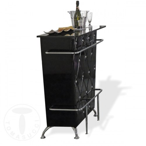 mobile bar DIVA BLACK