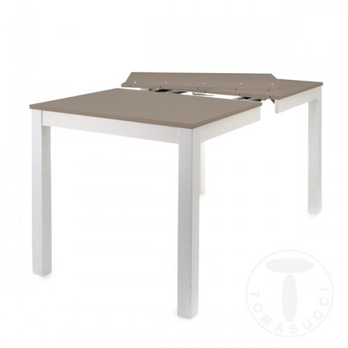 Shoes rectangular extensible table bull sandy for Table extensible 80