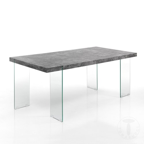 Extensible Charlie Table Table Extensible Cement Cement Charlie USMLqVGzp